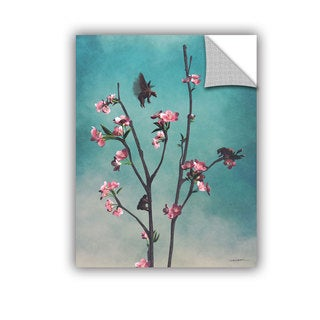 ArtAppealz Cynthia Decker 'Hummingbears' Removable Wall Art