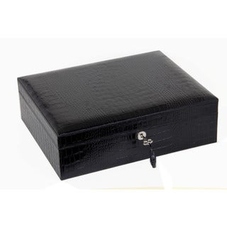 Brizard & Co Croco Black Airflow Humidor