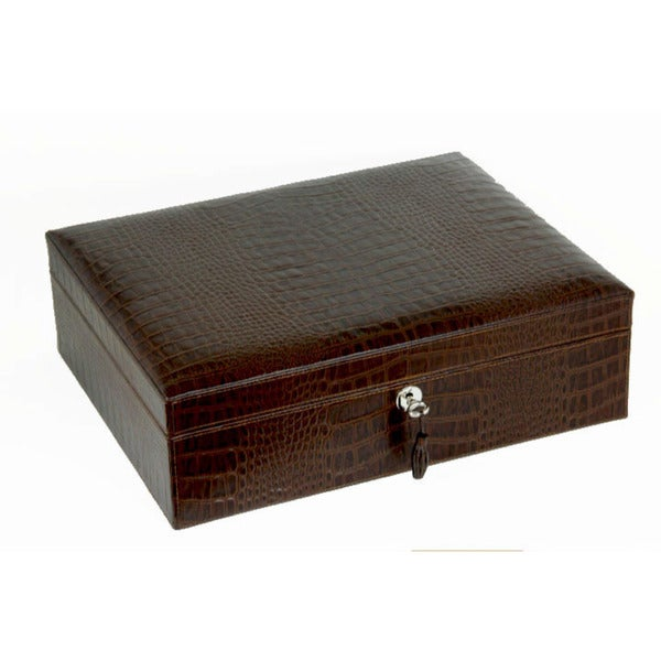 Brizard & Co Croco Tobacco Airflow Humidor