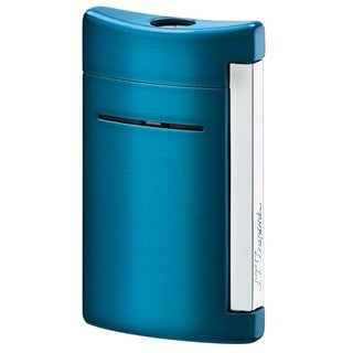 ST Dupont MiniJet Electric Blue Torch Flame Lighter