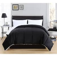 Caribbean Joe Micro Mink Reversible Down Alternative Comforter