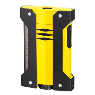 STDupont Defi Extreme Single Torch Flame Lighter - Yellow