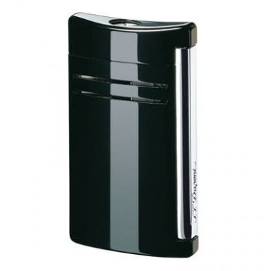 ST Dupont MaxiJet Black Gloss Torch Flame Lighter