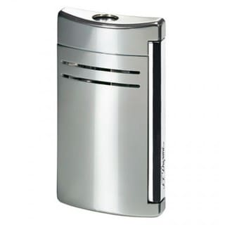 ST Dupont MaxiJet Silver Gloss Torch Flame Lighter
