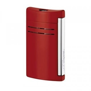 ST Dupont Maxijet Red Laquered Torch Flame Lighter