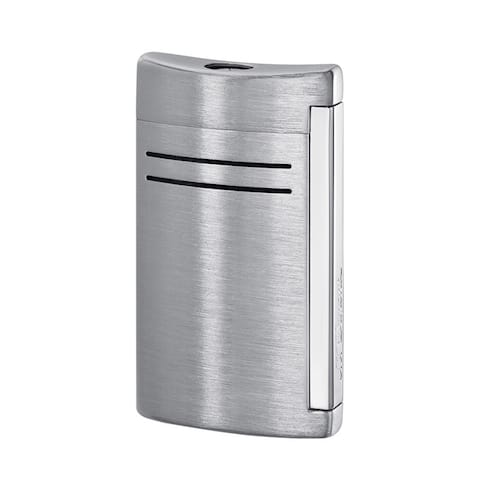 ST Dupont MaxiJet Brushed Chrome Torch Flame Lighter