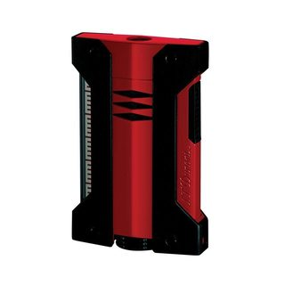 ST Dupont Defi Extreme Single Torch Red and Black Cigar Lighter