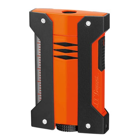 STDupont Defi Extreme Single Torch Flame Lighter - Orange