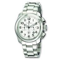 Versil Mens Charles Hubert Stainless Steel Chronograph Watch