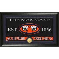 Auburn University 'Man Cave' Bronze Coin Panoramic Photo Mint