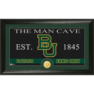 Baylor University 'Man Cave' Bronze Coin Panoramic Photo Mint