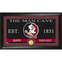 Florida State University 'Man Cave' Bronze Coin Panoramic Photo Mint