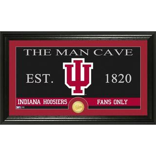 Indiana University 'Man Cave' Bronze Coin Panoramic Photo Mint