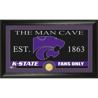 Kansas State University 'Man Cave' Bronze Coin Panoramic Photo Mint
