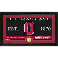 Ohio State University 'Man Cave' Bronze Coin Panoramic Photo Mint