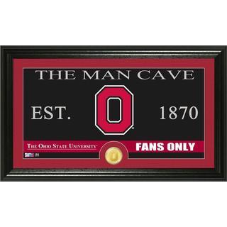 Ohio State University 'Man Cave' Bronze Coin Panoramic Photo Mint
