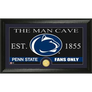 Penn State 'Man Cave' Bronze Coin Panoramic Photo Mint