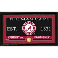 University of Alabama 'Man Cave' Bronze Coin Panoramic Photo Mint