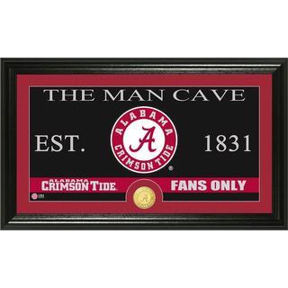 University of Alabama 'Man Cave' Bronze Coin Panoramic Photo Mint