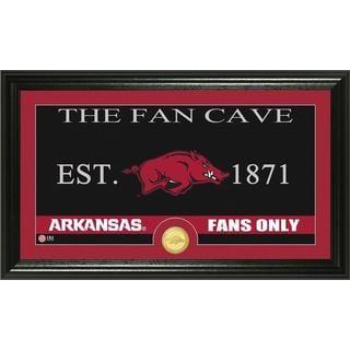 University of Arkansas 'Fan Cave' Bronze Coin Panoramic Photo Mint