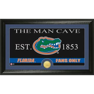 University of Florida 'Man Cave' Bronze Coin Panoramic Photo Mint