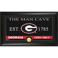University of Georgia 'Man Cave' Bronze Coin Panoramic Photo Mint