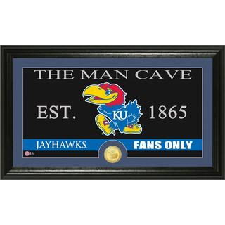 University of Kansas 'Man Cave' Bronze Coin Panoramic Photo Mint