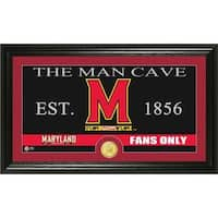 University of Maryland 'Man Cave' Bronze Coin Panoramic Photo Mint