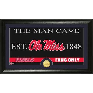 University of Mississippi 'Man Cave' Bronze Coin Panoramic Photo Mint