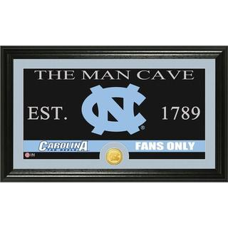 University of North Carolina 'Man Cave' Bronze Coin Panoramic Photo Mint