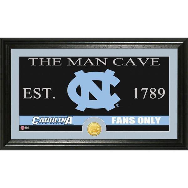 University of North Carolina 'Man Cave' Bronze Coin Panoramic Photo Mint