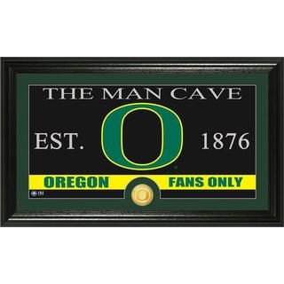 University of Oregon 'Man Cave' Bronze Coin Panoramic Photo Mint