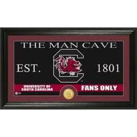 University of South Carolina 'Man Cave' Bronze Coin Panoramic Photo Mint