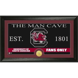 University of South Carolina 'Man Cave' Bronze Coin Panoramic Photo Mint
