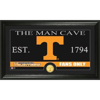 University of Tennessee 'Man Cave' Bronze Coin Panoramic Photo Mint