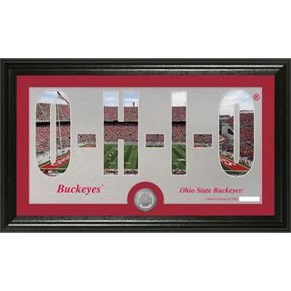 Ohio State University 'Word Art' Minted Coin Panoramic Photo Mint