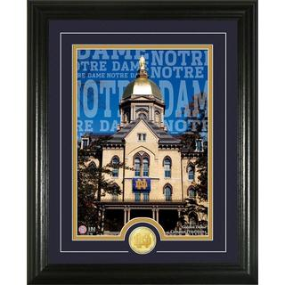 University of Notre Dame 'Campus Traditions' Bronze Coin Photo Mint