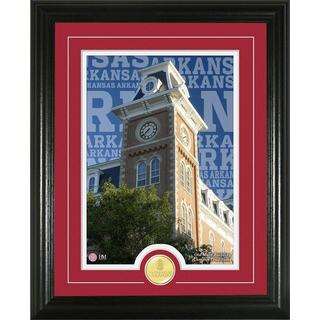 University of Arkansas 'Campus Traditions' Bronze Coin Photo Mint