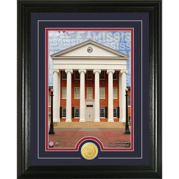 University of Mississippi 'Campus Traditions' Bronze Coin Photo Mint