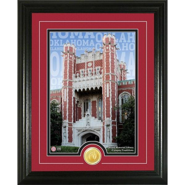University of Oklahoma 'Campus Traditions' Bronze Coin Photo Mint