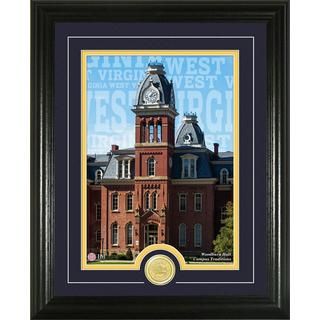 West Virginia University 'Campus Traditions' Bronze Coin Photo Mint