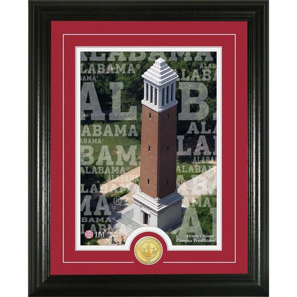 University of Alabama 'Campus Traditions' Bronze Coin Photo Mint