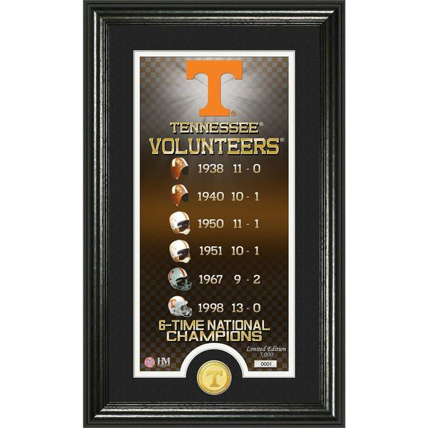 University of Tennessee 'Legacy' Supreme Bronze Coin Panoramic Photo Mint