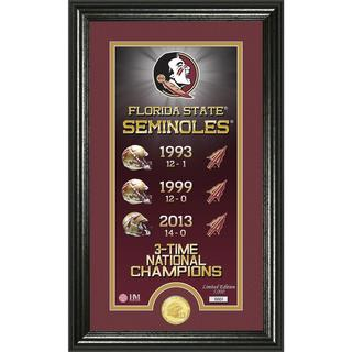 Florida State University 'Legacy' Supreme Bronze Coin Panoramic Photo Mint - multi-color
