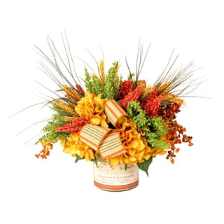 Fall Harvest Faux Floral