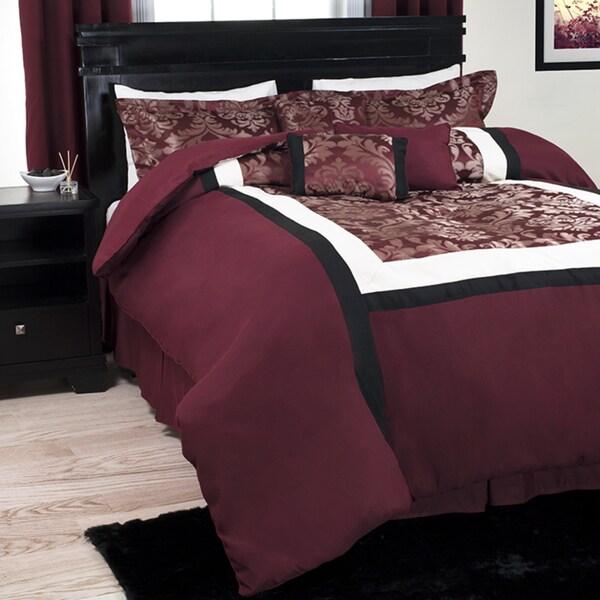 Windsor Home 7 Piece Lauren Comforter Set