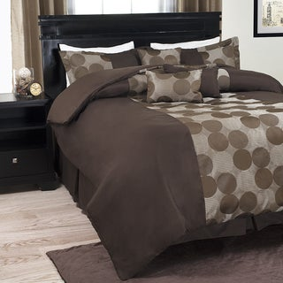 Windsor Home Circles 7-Piece Comforter Set