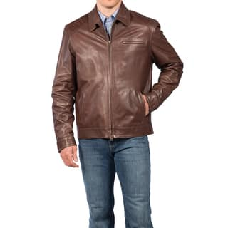 Tatto di Pelle Men's Tuscany Lambskin Jacket|https://ak1.ostkcdn.com/images/products/10596451/P17669766.jpg?impolicy=medium