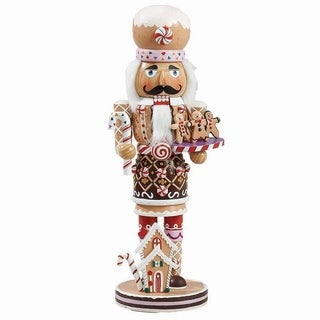 Kurt Adler 16-inch Gingerbread Nutcracker