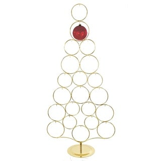 Kurt Adler 42-inch Gold Metal Tree Rack